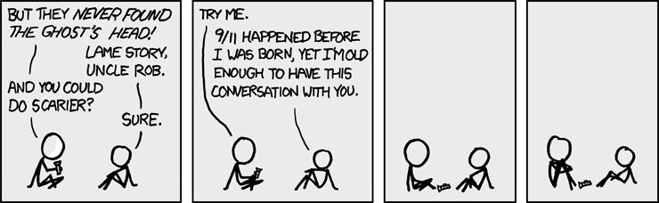 image from xkcd - A Webcomic - Scary