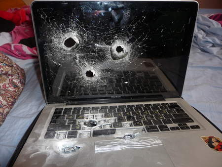 image from Israeli Security Opens Fire on a MacBook. Thrice. - Tom's Hardware