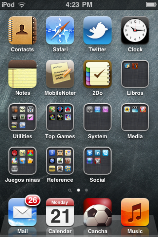 image from Folders in iOS4