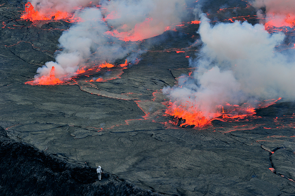 image from Nyiragongo Crater: Journey to the Center of the World - The Big Picture