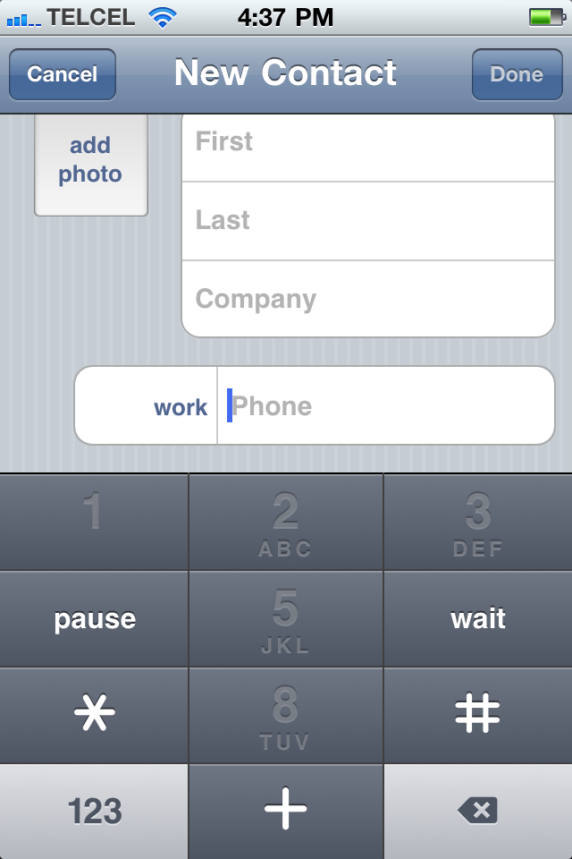 image from Single-tap conference dialing in iOS 4.3