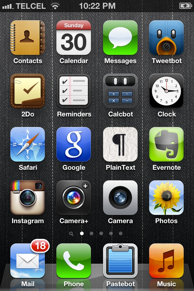 image from All the apps on my iPhone