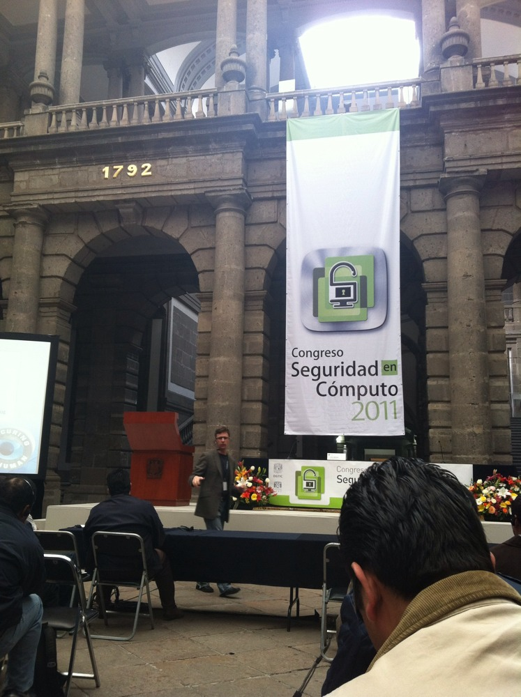 image from Congreso de Seguridad en Computo 2011