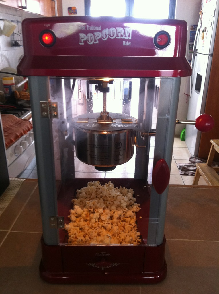 image from Our new popcorn machine :)
