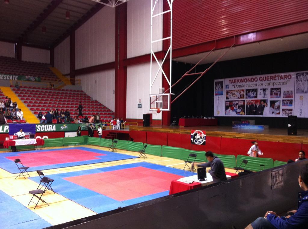 image from A punto de comenzar. Torneo de #TaeKwonDo en Querétaro