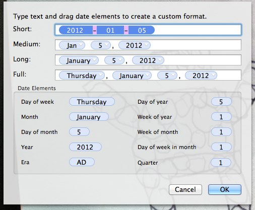 "image from HowTo: Changing the available display formats for Evernote's ""Insert Date"" command"